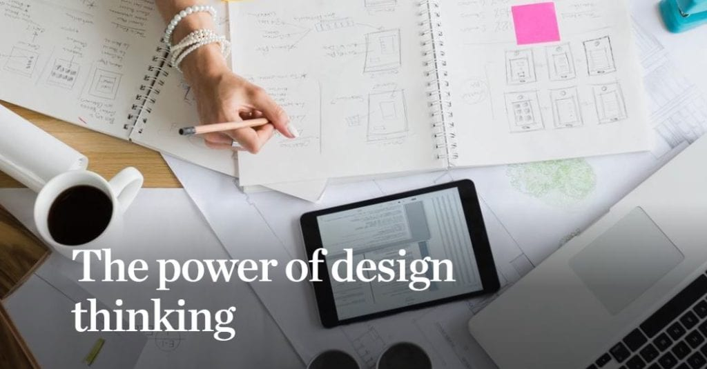 The Power of Design Thinking. Image Courtesy of McKinsey.