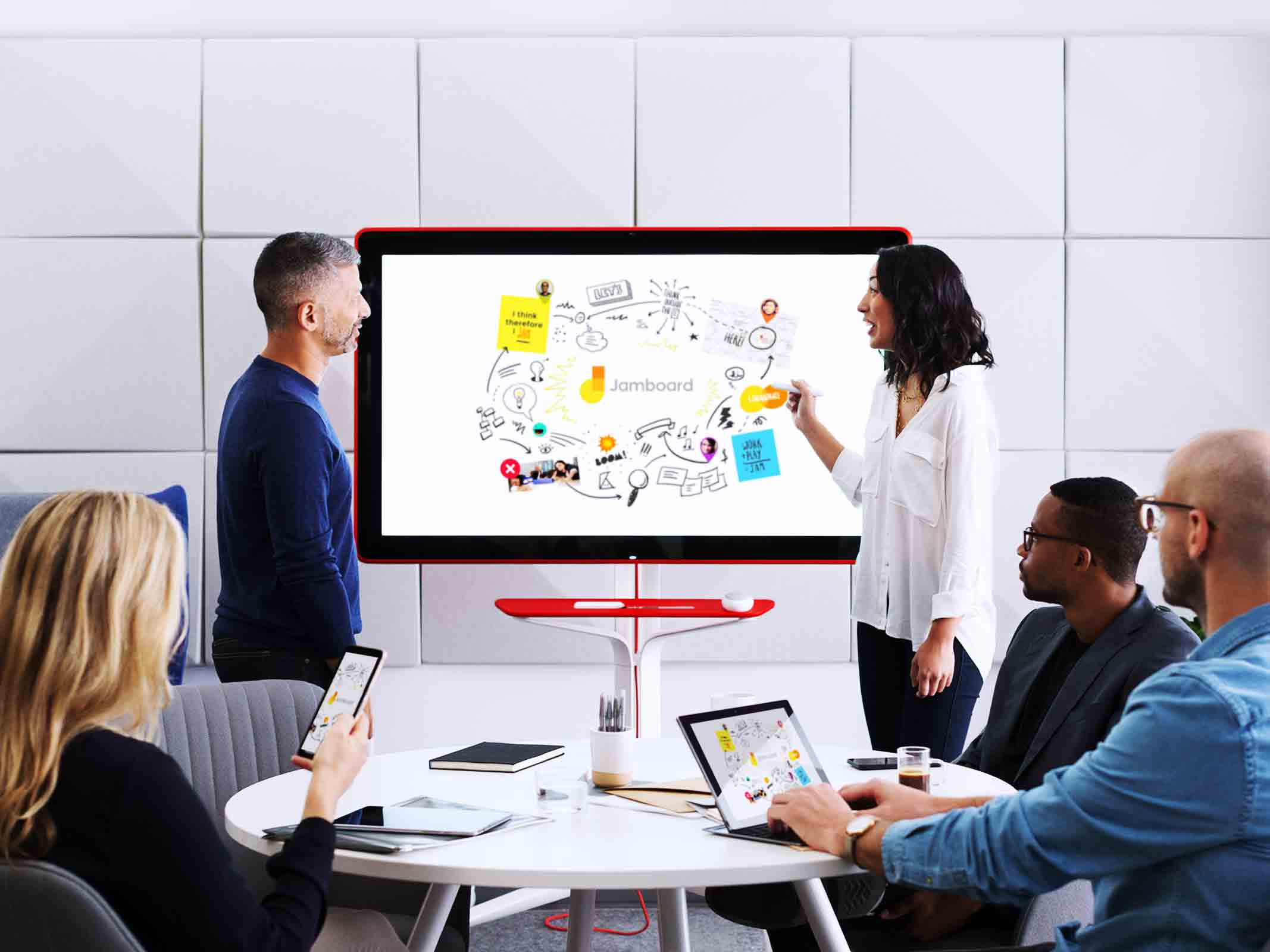 What is Google Jamboard